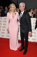 Holly Willoughby and Phillip Schofield<br /> at the National TV Awards 2017 held at the O2 Arena, Greenwich, London.<br /> <br /> <br /> &copy;Ash Knotek  D3221  25/01/2017