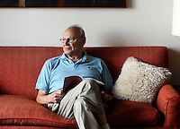 E. D. Hirsch, Jr. is the founder of the Core Knowledge Foundation and professor emeritus of education and humanities at the University of Virginia. Hirsch was photographed August 20, 2013 at his home in Charlottesville, VA. Photo/Andrew Shurtleff