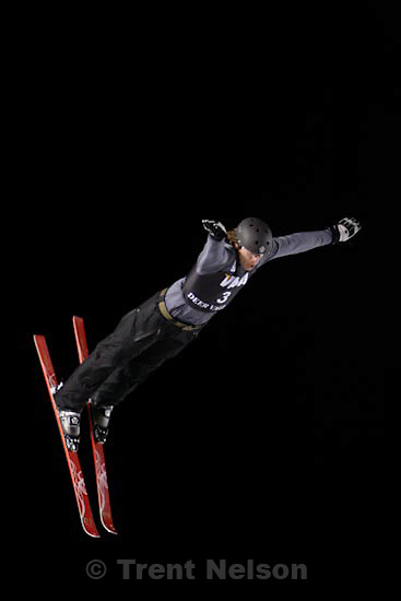 Trent Nelson  |  The Salt Lake Tribune.Timofei Slivets, Belarus, Aerials competition, Freestyle FIS World Cup at Deer Valley Friday, January 15, 2010.