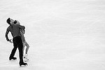 Cheng Peng and Hao Zhang of China compete in the Figure Skating Pairs Short Program during the 2014 Sochi Olympic Winter Games at Iceberg Skating Palace on February 6, 2014 in Sochi, Russia. Photo by Victor Fraile / Power Sport Images