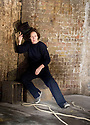 The Rime of The Ancient Mariner by Samuel Taylor Coleridge, directed by Phyllida Lloyd. With Fiona Shaw . Opens at The Old Vic Tunnels in Waterloo London on 8/1/13. CREDIT Geraint Lewis