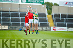 Kerry in action against  Louth in the All Ireland Minor Football Quarter Finals at O'Moore Park, Portlaoise on Saturday.