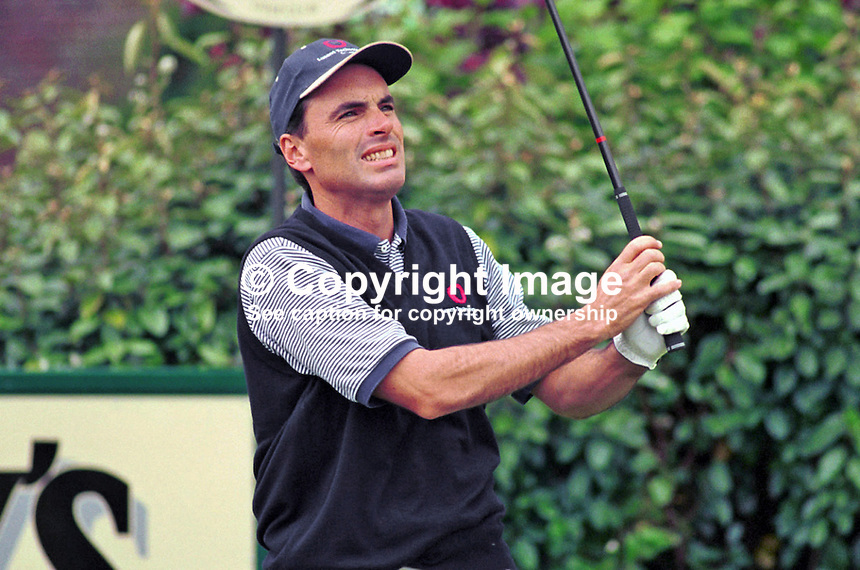 John Finlayson, Professional Golfer, USA, Ref: 199907139, Photograph taken July 1999 at Druids Glen, Co Wicklow, during Murphys Irish Open. Copyright Image from Victor Patterson, 54 Dorchester Park, Belfast, UK, BT9 6RJ<br />