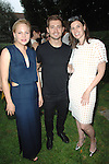 Adelaide Clemens, Julian Morris, Sima Familant==<br /> LAXART 5th Annual Garden Party Presented by Tory Burch==<br /> Private Residence, Beverly Hills, CA==<br /> August 3, 2014==<br /> &copy;LAXART==<br /> Photo: DAVID CROTTY/Laxart.com==
