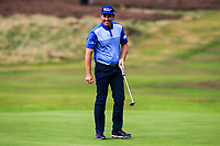 Padraig Harrington (IRL) makes a birdie on the 3rd during Round 2 of the Sky Sports British Masters at Walton Heath Golf Club in Tadworth, Surrey, England on Friday 12th Oct 2018.<br /> Picture:  Thos Caffrey | Golffile<br /> <br /> All photo usage must carry mandatory copyright credit (&copy; Golffile | Thos Caffrey)