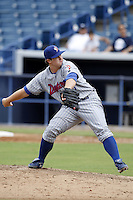 July 10, 2009:  Pitcher David Cales of the Daytona Cubs during a game at George M. Steinbrenner Field in Tampa, FL.  Daytona is the Florida State League High-A affiliate of the Chicago Cubs.  Photo By Mike Janes/Four Seam Images