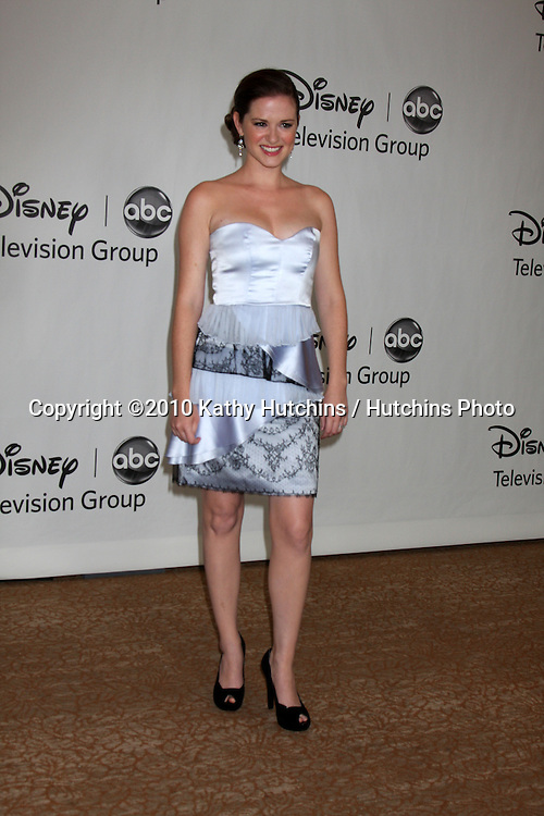 LOS ANGELES - AUGUST 1:  Sarah Drew arrive(s) at the 2010 ABC Summer Press Tour Party at Beverly Hilton Hotel on August 1, 2010 in Beverly Hills, CA...