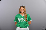 DENTON TX JANUARY 10:University of North Texas Softball team head shots and marketing photos at Apogee Stadium in Denton, TX on January 10, 2020.