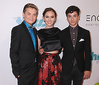 BEVERLY HILLS, CA - JUNE 24:  Reese Hartwig, Ella Wahlestedt and Teo Halm at the 5th Annual Thirst Gala at the Beverly Hilton Hotel on June 24, 2014 in Beverly Hills, California. PGSK/Starlitepics