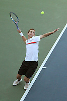 STANFORD, CA - NOVEMBER 16:  Greg Hirshman of the Stanford Cardinal during photo day on November 16, 2009 at the Taube Family Tennis Stadium in Stanford, California.