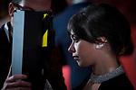 Anna Castillo attends red carpet of Goya Cinema Awards 2018 at Madrid Marriott Auditorium in Madrid , Spain. February 03, 2018. (ALTERPHOTOS/Borja B.Hojas)