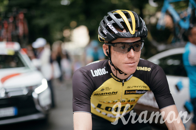Steven Kruijswijk (NED/LottoNL-Jumbo) at the start of stage 13: Reggio Emilia › Tortona (167km) of the 100th Giro d'Italia 2017