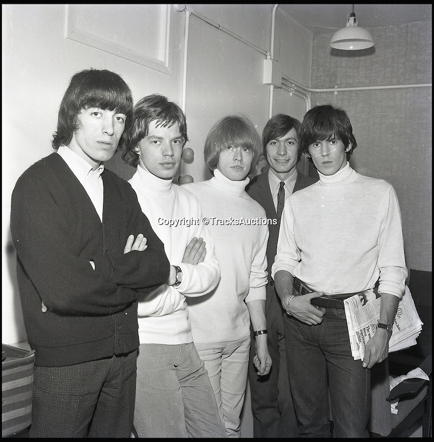 BNPS.co.uk (01202 558833)<br /> Pic: TracksAuctions/BNPS<br /> <br /> The Stones in 1964 at the Liverpool Empire - a year after the tape was made.<br /> <br /> A granddad got more than just satisfaction when a lost Rolling Stone's song abandoned in his loft sold for a staggering £36,000.<br />  <br /> The reel-to-reel tape had only been valued at £6,000 by auctioneers, but wild horses couldn't drag bidders away as they all competed to own a piece of rock history.<br />  <br /> Jeremy Nielsen, 68, is over the moon as he picked it up for free while visiting a recording studio 50 years ago and chucked it in his loft without listening to it.