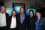 Jim Clark - Fisher Stevens - Robert F. Kennedy, Jr. - Ben Stiller - Jane Rosenthal at the New York Screening of The Cove, Cinema 2, NYC. (Photo by Sue Coflin/Max Photos)