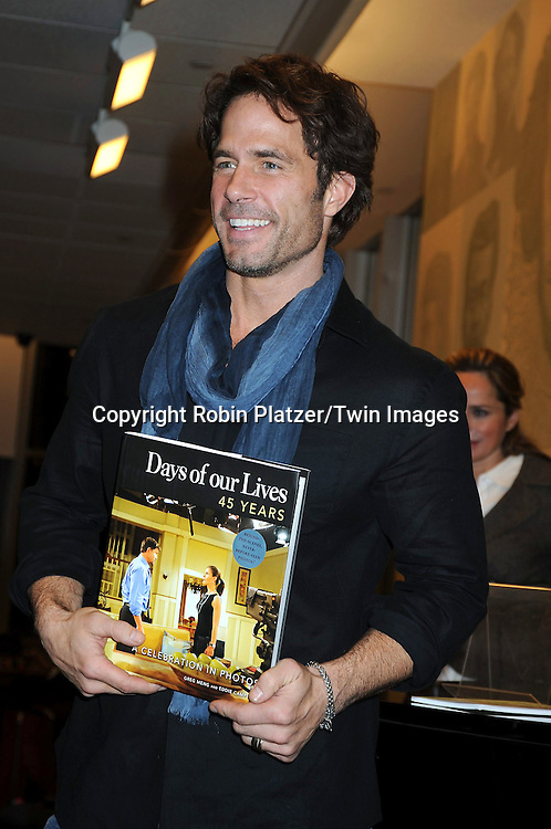 "Shawn Christian at the book signing for""Days of Our Lives 45 Years :A Celebration in Photos"" at Barnes & Nobles, Lincoln Triangle in New York City on December 7, 2010..photo by Robin Platzer/ Twin Images"