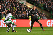 12th September 2017, Glasgow, Scotland; Champions League football, Glasgow Celtic versus Paris Saint Germain;  29 KYLIAN MBAPPE (psg) takes on Olivier Ntcham (cel)