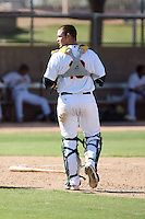 Ryan Lipkin - Oakland Athletics - 2010 Instructional League.Photo by:  Bill Mitchell/Four Seam Images..