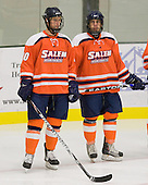 Matthew Genovese (Salem State - 10), Alexander Eisath (Salem State - 8) - The visiting Salem State University Vikings defeated the Plymouth State University Panthers 5-2 on Thursday, November 18, 2010, at Hanaway Rink in Plymouth, New Hampshire.