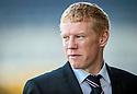 Falkirk manager Gary Holt.
