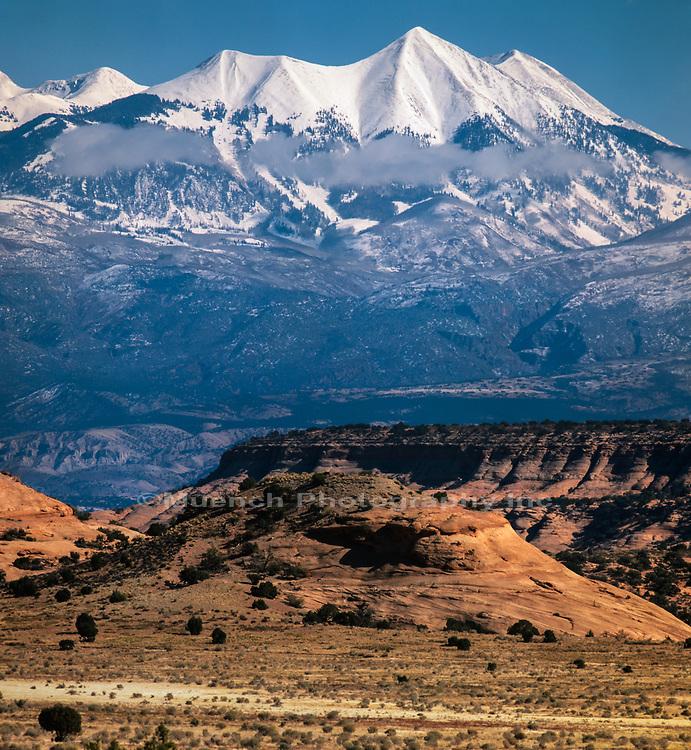 Sierra la Sal Mountain Range,Canyonlands National Park,Utah