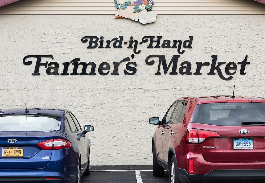 Bird in Hand farmer's market, Pennsylvania, USA