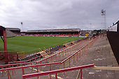 23/06/2000 Blackpool FC Bloomfield Road Ground.Visitors view of the Kop away section......© Phill Heywood.