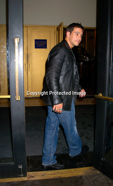Tyler Christopher ..at a performance of Aida on July 23, 2004 at the Palace ..Theatre. ..Photo by Robin Platzer, Twin Images