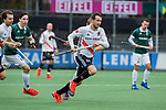 AMSTELVEEN - Tom Hiebendaal (Adam)   tijdens de hoofdklasse competitiewedstrijd heren, AMSTERDAM-ROTTERDAM (2-2). . COPYRIGHT KOEN SUYK