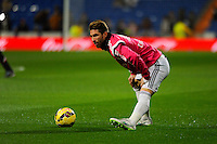 Real Madrid´s Sergio Ramos during 2014-15 La Liga match between Real Madrid and Sevilla at Santiago Bernabeu stadium in Alcorcon, Madrid, Spain. February 04, 2015. (ALTERPHOTOS/Luis Fernandez) /NORTEphoto.com