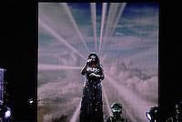 ATENCAO EDITOR FOTO ARQUIVO DE 10/ 11/2009 - SAO PAULO, SP, 17 DE MAIO 2012 - MORRE DONNA SUMMER - A cantora Donna Summer morreu nesta madrugada, aos 63 anos, após batalha contra o câncer. Na foto arquivo de 10 de novembro de 2009, durante apresentacao do Credicard Hall na regiao sul de Sao Paulo. (FOTO: WILLIAM VOLCOV / BRAZIL PHOTO PRESS).