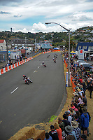 Super Motard. The 2017 Suzuki series Cemetery Circuit motorcycle racing at Cooks Gardens in Wanganui, New Zealand on Tuesday, 27 December 2017. Photo: Dave Lintott / lintottphoto.co.nz