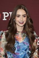 8 June 2019 - Los Angeles, California - Lily Collins. Les Misérables Photo Call held at Linwood Dunn Theater. Photo Credit: Faye Sadou/AdMedia