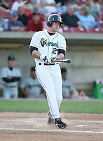 Matt Sweeney of the Cedar Rapids Kernals during the Midwest League All-Star game.  Photo by:  Mike Janes/Four Seam Images