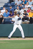 July 4, 2009: Everett AquaSox infielder Ben Billingsley at-bat during a Northwest League game against the Yakima Bears at Everett Memorial Stadium in Everett, Washington.