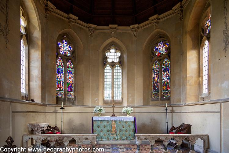 Church of Saint Katherine, Bedwyn Common, Savernake Forest, Wiltshire, England, UK