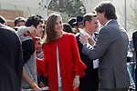 Queen Letizia of Spain with the Mayor of Soria city, Carlos Martínez Minguez during the proclamation of the winner of the '2017 Princess of Girona Foundation' Social category. March 30,2017. (ALTERPHOTOS/Acero)