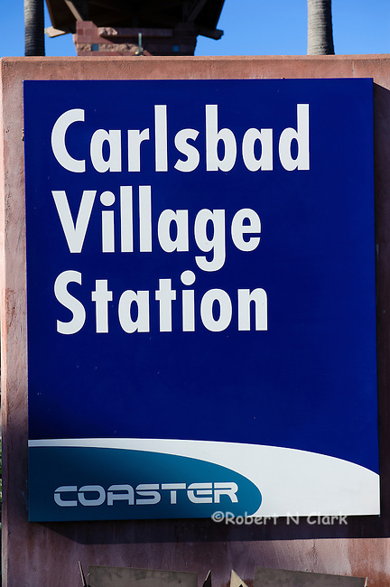 Carlsbad Coaster and Amtrack station