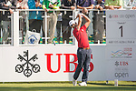 Jorge Campillo of Spain tees off the first hole during the 58th UBS Hong Kong Open as part of the European Tour on 08 December 2016, at the Hong Kong Golf Club, Fanling, Hong Kong, China. Photo by Marcio Rodrigo Machado / Power Sport Images