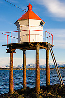 Norway, Stavanger. Small lighthouse.
