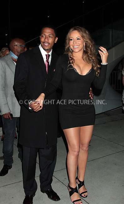 WWW.ACEPIXS.COM . . . . .  ....October 3 2009, New York City....Mariah Carey and Nick Cannon arriving at the 2009 New York Film Festival's screening of 'Precious' at Alice Tully Hall on October 3, 2009 in New York City.....Please byline: AJ Sokalner - ACEPIXS.COM.... *** ***..Ace Pictures, Inc:  ..(212) 243-8787 or (646) 769 0430..e-mail: picturedesk@acepixs.com..web: http://www.acepixs.com