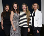 Kara Unterberg (The NY SongSpace), Georgia Stitt (MAESTRA Founder), Bonnie Comley (BroadwayHD) and Kathy Sommer (Songwriter/Composer) during the MAESTRA May Meeting with guest speaker Bonnie Comley at The New York SongSpace on May 8, 2019 in New York City.