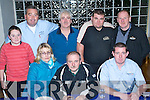 4007-4011.Rally - Members of The Kerry Motor Club pictured at the Stewards Meeting on Saturday night at The Ballyroe Heights Hotel ahead of Sunday's Mini Stages Rally held in Banna. Seated l/r Noreen Walsh, Kevin Walsh and Jakes Kelly, all Ardfert. Standing l/r David & James O'Brien, Monavalley, John Young, Manor, David Griffin, Castlemaine and Brendan Savage, Cahermoneen. .Jakes correct..................................................................... ............   Copyright Kerry's Eye 2008