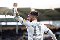 Leeds United's Tyler Roberts celebrates scoring his side's fourth goal, his second<br /> <br /> Photographer Alex Dodd/CameraSport<br /> <br /> The EFL Sky Bet Championship - Hull City v Leeds United - Saturday 29th February 2020 - KCOM Stadium - Hull<br /> <br /> World Copyright © 2020 CameraSport. All rights reserved. 43 Linden Ave. Countesthorpe. Leicester. England. LE8 5PG - Tel: +44 (0) 116 277 4147 - admin@camerasport.com - www.camerasport.com