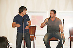 Dominic Zamprogna & Tyler Christopher - General Hospital actors came to Uncle Vinny's/Ferraras at the Crown Plaza in Trevose, Pennsylvania on April 22, 2010 to see fans with a q & a and autographs and taking of photos. (Photo by Sue Coflin/Max Photos0