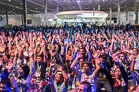 "SÃO PAULO, SP. 05.02.2015 - CAMPUS PARTY 2015/ PALESTRA PAUL ZALOOM/ MUNDO DE BEAKMAN – O artista e cineasta Paul Zaloom, famoso pela série "" O Mundo de Beakman"", realiza palestra na Campus Party 2015 na tarde desta quinta-feira (5), na zona sul de São Paulo. (Foto: Taba Benedicto / Brasil Photo Press)"