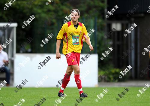 2011-08-17 / Voetbal / seizoen 2011-2012 / Bornem SV - Verbroedering Geel-Meerhout / Nick de Groote..Foto: mpics