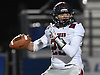 William Pickett #29, South Side quarterback, throws a pass for an 11-yard touchdown during the Nassau County football Conference III semifinals against Wantagh at Shuart Stadium in Hempstead on Saturday, Nov. 10, 2018.