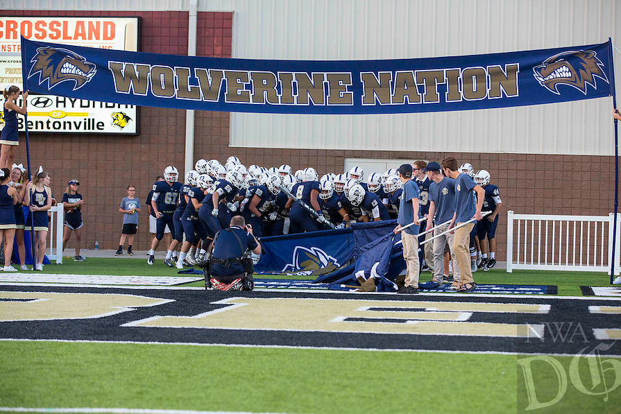 Photos by David Beach - Bentonville Homecoming West Game - Van Buren vs Bentonville West, Tiger Stadium, Bentonville, AR on September 23, 2016.