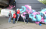 Final Day of the 2009 Graffiti Jam under the Bridge of Peace 17/08/09..Photo NEWSFILE/Jenny Matthews.(Photo credit should read Jenny Matthews/NEWSFILE)....This Picture has been sent you under the condtions enclosed by:.Newsfile Ltd..The Studio,.Millmount Abbey,.Drogheda,.Co Meath..Ireland..Tel: +353(0)41-9871240.Fax: +353(0)41-9871260.GSM: +353(0)86-2500958.email: pictures@newsfile.ie.www.newsfile.ie.FTP: 193.120.102.198.