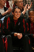 2 December 2007: Stanford Cardinal Ashley Cimino during Stanford's 62-41 win against the UC Davis Aggies at Maples Pavilion in Stanford, CA.